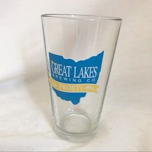 Great Lakes Prost Pint Beer Glass